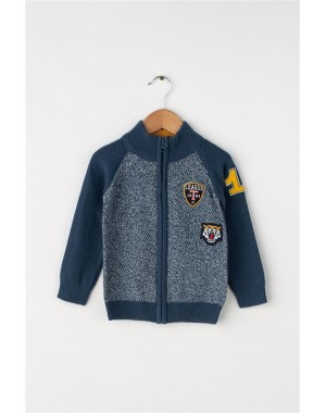 CHAQUETA PUNTO LEAGUE NIÑO BLUE SEVEN 869040
