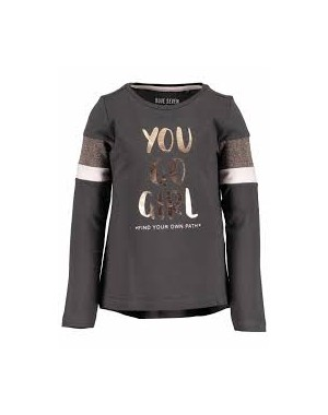 CAMISETA YOU GO GIRL NIÑA BLUE SEVEN 750600