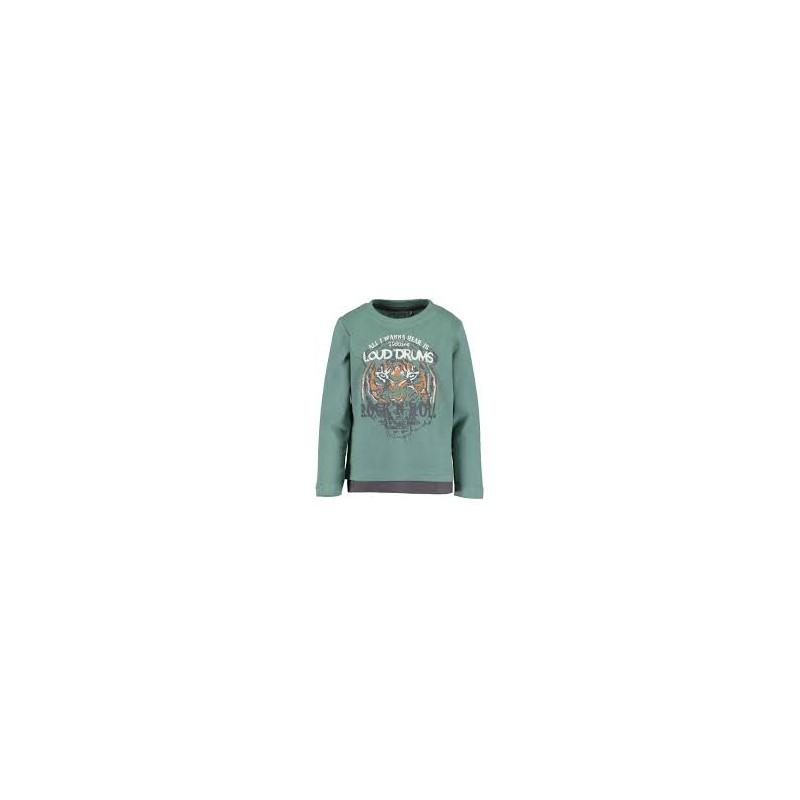 CAMISETA ROCK N´ROLL TIGRE NIÑO BLUE SEVEN 850620