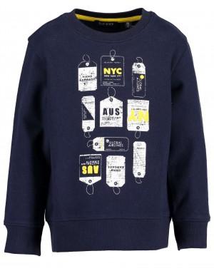 SUDADERA NYC NIÑO BLUE SEVEN 864590