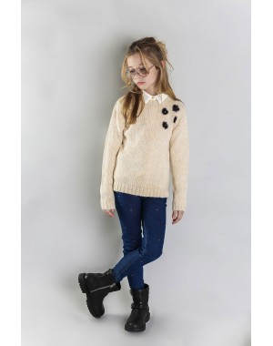 JERSEY PUNTO COLD DAYS NIÑA STREET MONKEY 30512